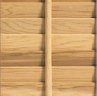 Timberlane wood shutter with large tilt rod
