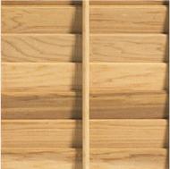 Timberlane wood shutter with small tilt rod